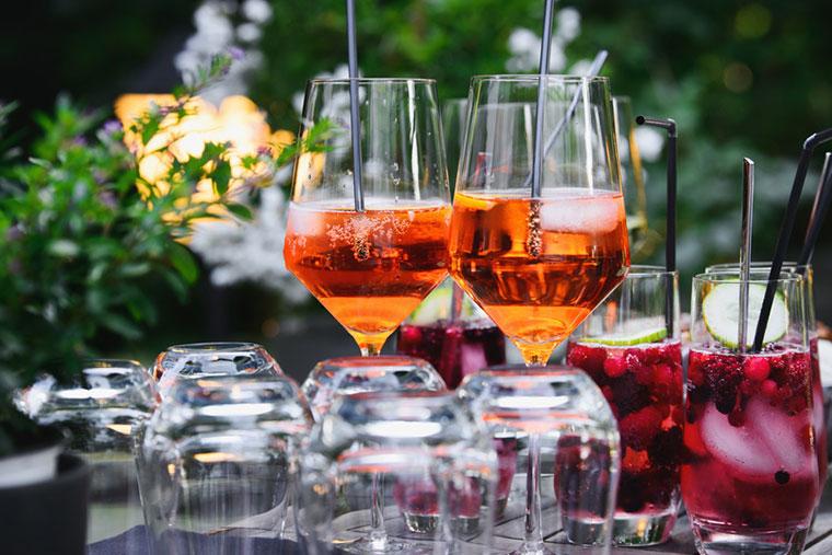 Getränke bei Traunspurger Catering in Vilshofen