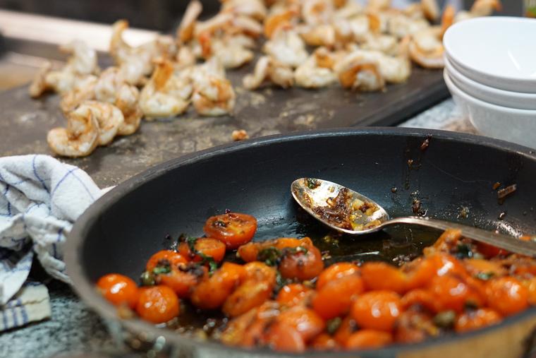 Angebratene Tomaten